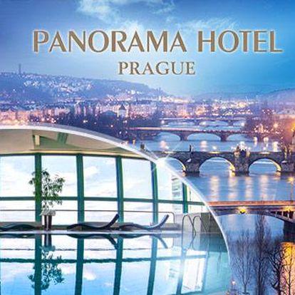 Hotel Panorama**** Praha na 1 noc pro 2 osoby vč. snídaně a TOP wellness ve 24. patře
