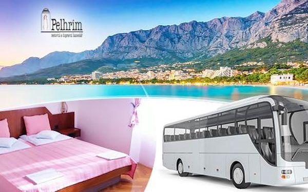 Chorvatsko - Makarská, 7 nocí pro 1 osobu s polopenzí a možností autobusu, termíny v srpnu
