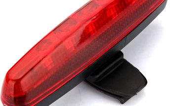Zadní světlo (blikačka) na kolo 5 LED - 3 režimy svícení