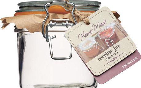 Zavařovací sklenice Home Made, 350 ml