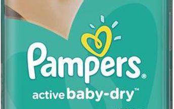 Pampers Active Baby 6 Extra large 15+kg, 56 ks GIANTPACK - jednorázové pleny