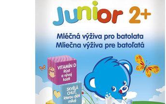 Nestlé kojenecké mléko JUNIOR 2+, 2x350g