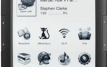 Čtečka e-knih eReading.cz Start 2, černá + 200 Kč za registraci
