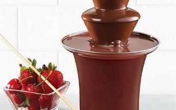 Fontána na čokoládu - skladovka - poštovné zdarma