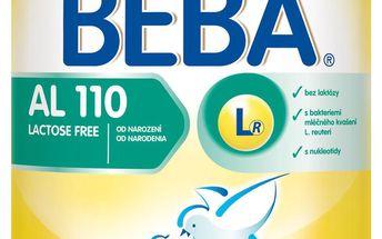Nestlé kojenecké mléko AL 110 - Při potížích s trávením laktózy, 400g