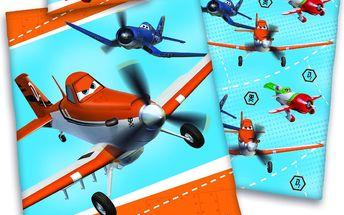 Povlečení pro miminka Planes (Letadla) 135x100,40x60