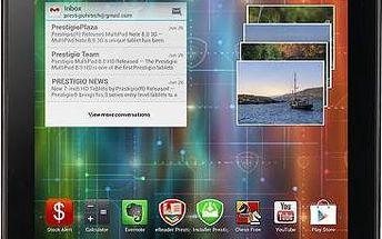 Tablet Prestigio MultiPad 7.0 UltraDuo, černý + 200 Kč za registraci