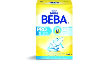 BEBA kojenecké mléko PRO 3, 6x600g