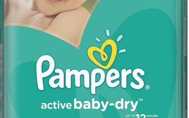 Pampers Active Baby 5 Junior 11-18kg, 64 ks GIANTPACK - jednorázové pleny