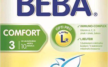 BEBA kojenecké mléko Comfort 3, 6x600g