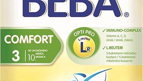 BEBA kojenecké mléko Comfort 3, 2x300g