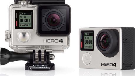 Digitální kamera GoPro HERO4 Black Edition + 200 Kč za registraci