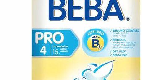 BEBA kojenecké mléko PRO 4, 2x300g