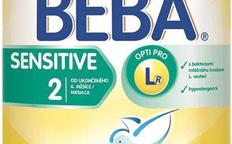 BEBA kojenecké mléko Sensitive 2 800g