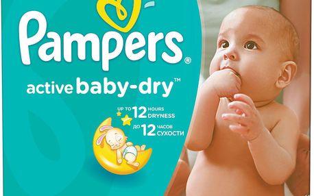 Pampers Active Baby 3 midi 4-9kg, 174ks - jednorázové pleny