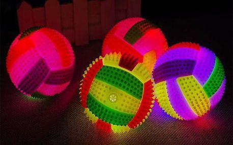 Svítící míček se zvuky - dodání do 2 dnů