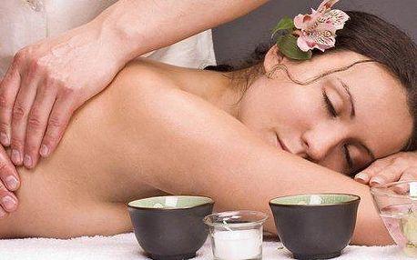 60minutová thajská olejová nebo relaxační aroma masáž