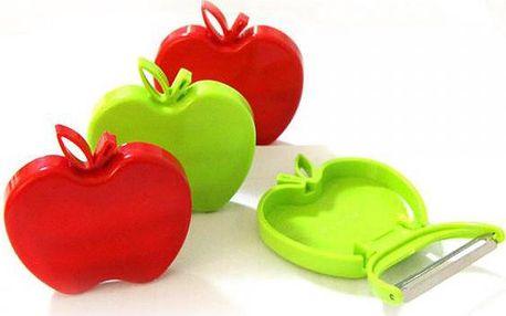 Skládací škrabka na zeleninu ve tvaru jablka - dodání do 2 dnů