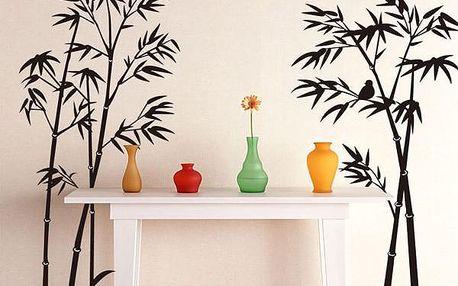 Nálepka na zeď s motivem bambusu