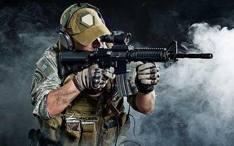 Provětrejte až 15 zbraní - akční střelba