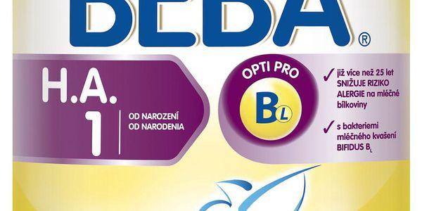 BEBA kojenecké mléko HA 1 400g