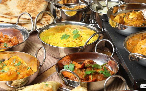 Exotické indické menu podle výběru pro dva