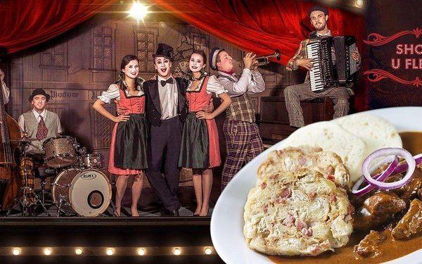 Staropražská hudební show a večeře U Fleků