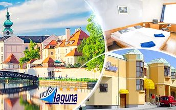 Jižní Čechy - České Budějovice na 3 až 5 dní pro 2 osoby se snídaněmi v Hotelu Laguna***