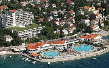Chorvatsko - Crikvenica na 10 dní, polopenze s dopravou autobusem 150 m od pláže