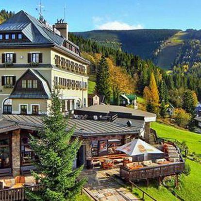 Neomezený wellness s polopenzí v luxusním 4* Hotelu Praha