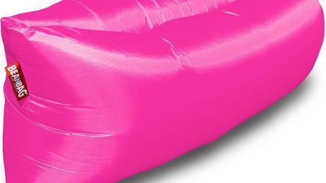 BeanBag Nafukovací inflatable sedací vak pink