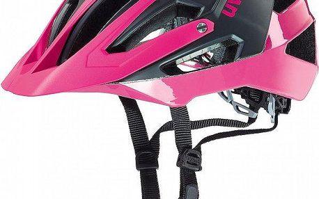 Uvex Quatro Lady Black Mat-Pink 52-57