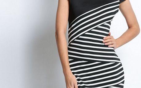 Letní proužkované šaty – 2 modely