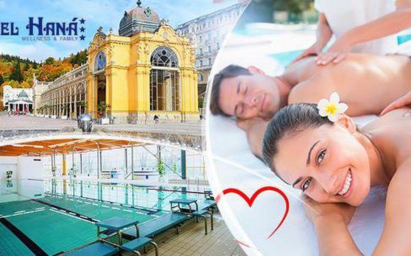 Mariánské Lázně na 3, 4 nebo 6 dní - relaxační pobyt pro 2 osoby + polopenze, masáže, zábaly a bazén