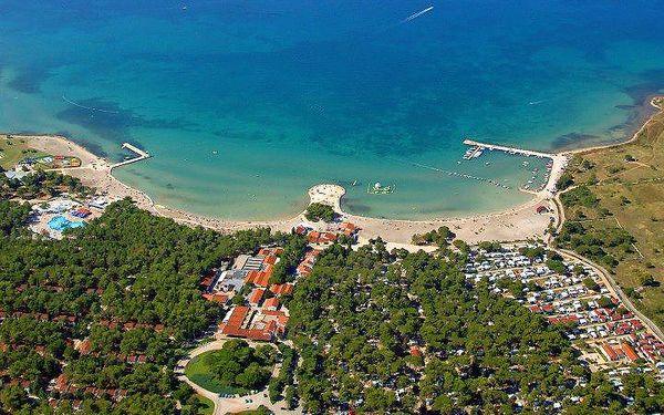 Chorvatsko - Zaton na 8 dní, bez stravy s dopravou vlastní 50 m od pláže
