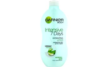 Garnier Hydratační tělové mléko s aloe vera (Intensive 7days) 400 ml + SEFIROS Vzorek kosmetiky z Mrtvého moře