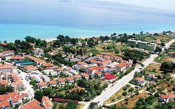 Řecko - Chalkidiki na 8 dní, all inclusive nebo polopenze s dopravou letecky z Prahy 300 m od pláže