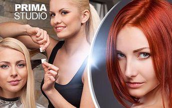 Dámský kadeřnický balíček pro všechny délky vlasů - střih, barvení, možnost regenerace