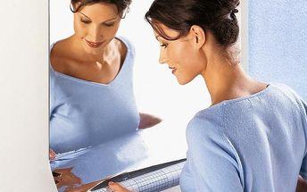 Zrcadlová adhezivní samolepka Ambiance Mirror, 100 x 60 cm