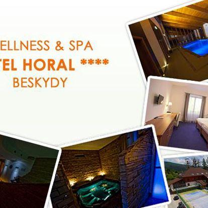 3799 Kč za 3 dny relaxačního pobytu pro DVA ve wellness & spa hotelu Horal**** v Beskydech včetně polopenze a dalších služeb