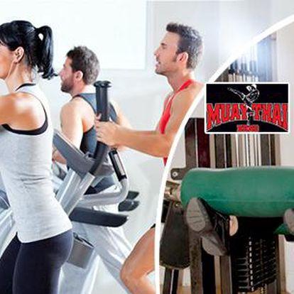 fitness centru MUAY-THAI Brno - 6 nebo 12 časově neomezených vstupů