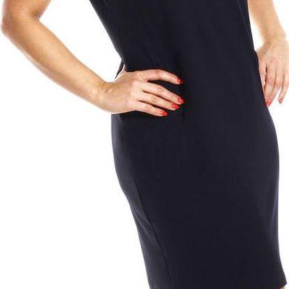 KARLA - šaty 120 cm černá L