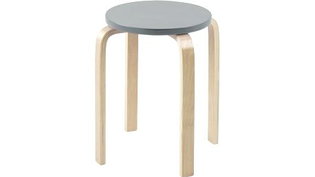 Odkládací stolek Emba, šedý