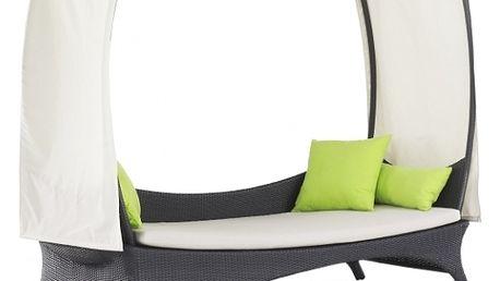 Zahradní postel Monterey šedá