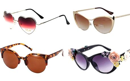 Elegantní dámské sluneční brýle v několika provedeních