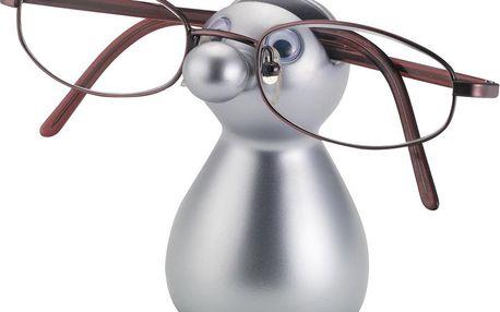 Stojánek na brýle Guido, stříbrný