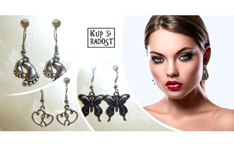 Ručně vyráběné originální náušničky, originální přívěsky a výrazný šperk