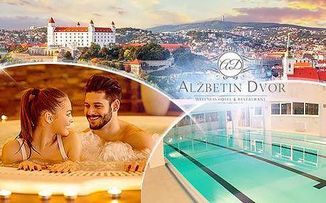 3 až 7 dní pro dva s polopenzí a neomezeným wellness poblíž města Bratislava v hotelu Alžbetin Dvor