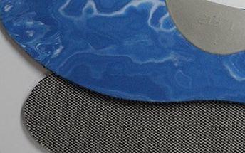 Protizápachové antibakteriální vložky do obuvi, mírná podpora podélné nožní klenby včetně poštovného