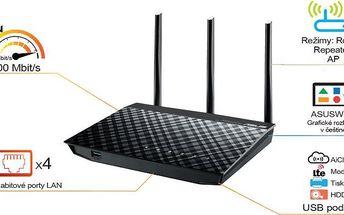 Asus Bezdrátový router (RT-N18U)